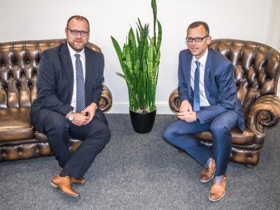Ihre Berater: René Hülsmann und Frank Raue